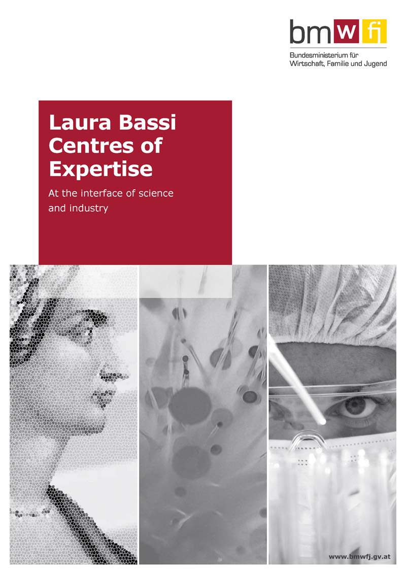 New Laura Bassi Centres of Expertise booklet