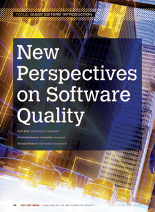 New Perspectives on Software Quality