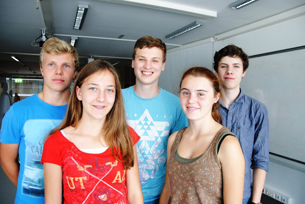 Four weeks students' internship at QE